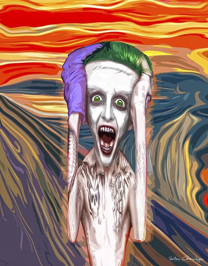Artist-Turns-Famous-Classic-Paintings-Into-Batman-Themed-Pop-Art-4-720x919