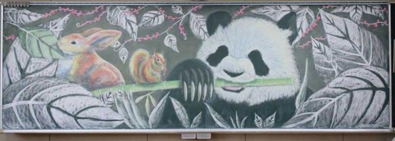 chalkboard-blackboard-art-highschool-nichigaku-japan-12