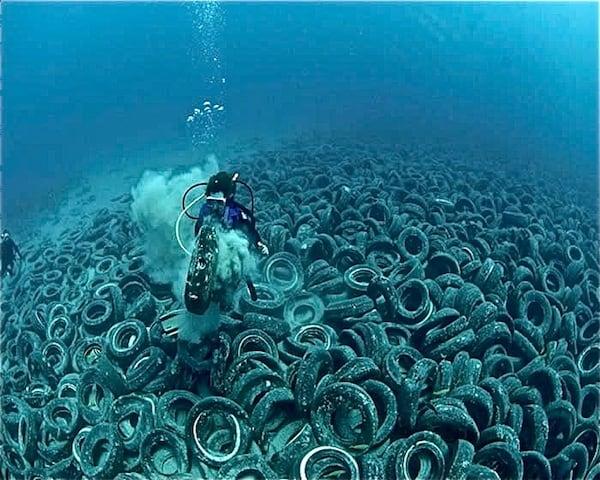 rubbish tires
