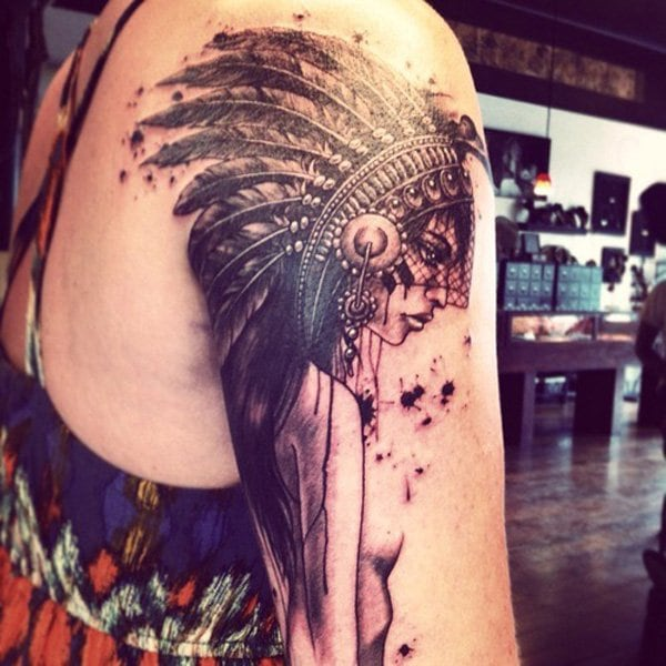 Native-American-Sleee-Tattoo-3