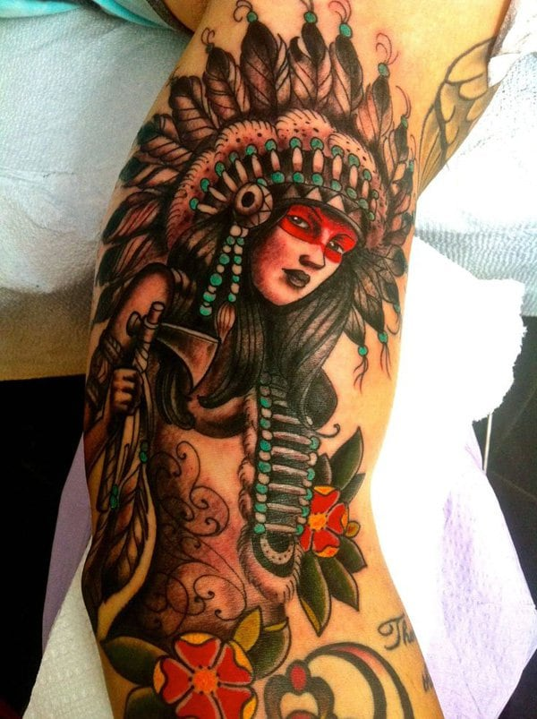 Native-American-heritage-piece-by-Kyle-Walker-at-Guru-Tattoo-in-San-Diego