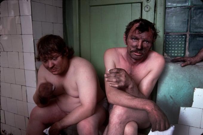 Miners, Novokuznetsk, 1991
