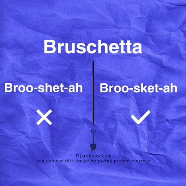 bruschetta-pronunciation