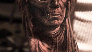 decaying man tattoo 1