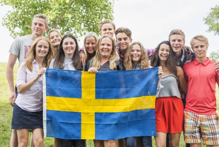 Sweden pays students US$187 per month to attend high school.