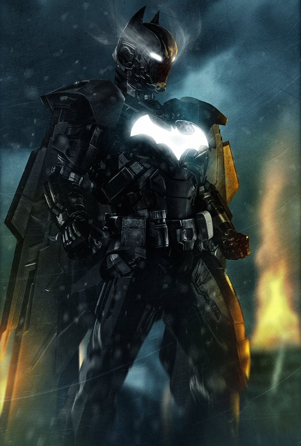 11 - Iron Batman