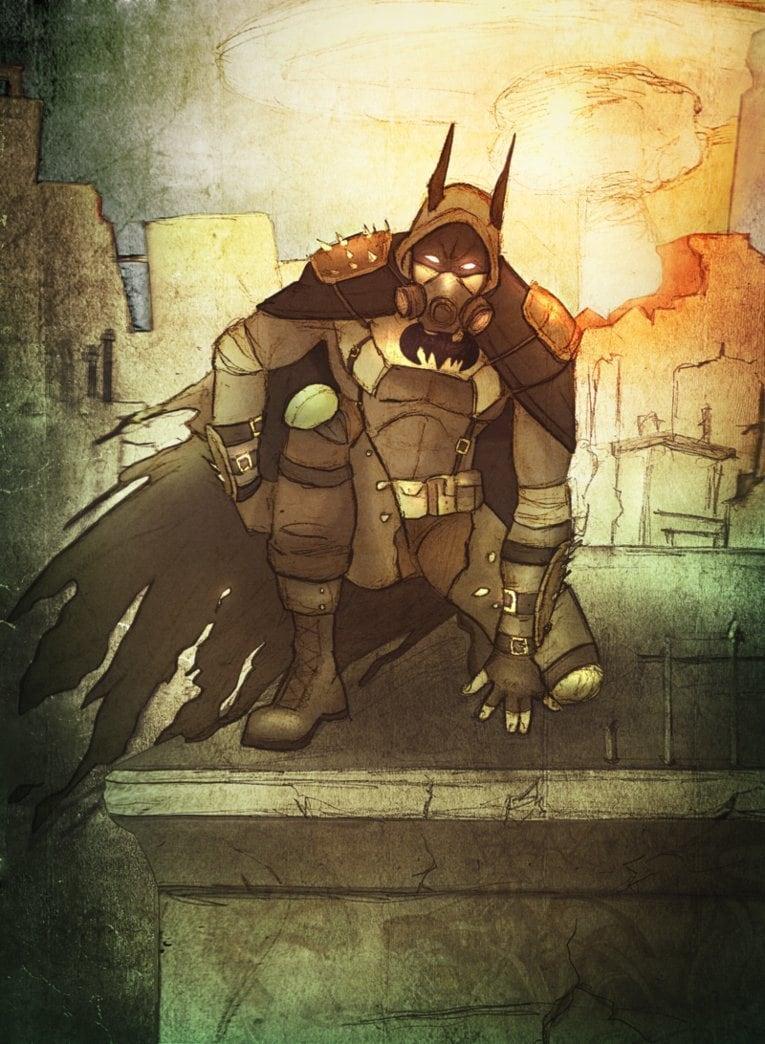 14 - Post-Apocalyptic Batman