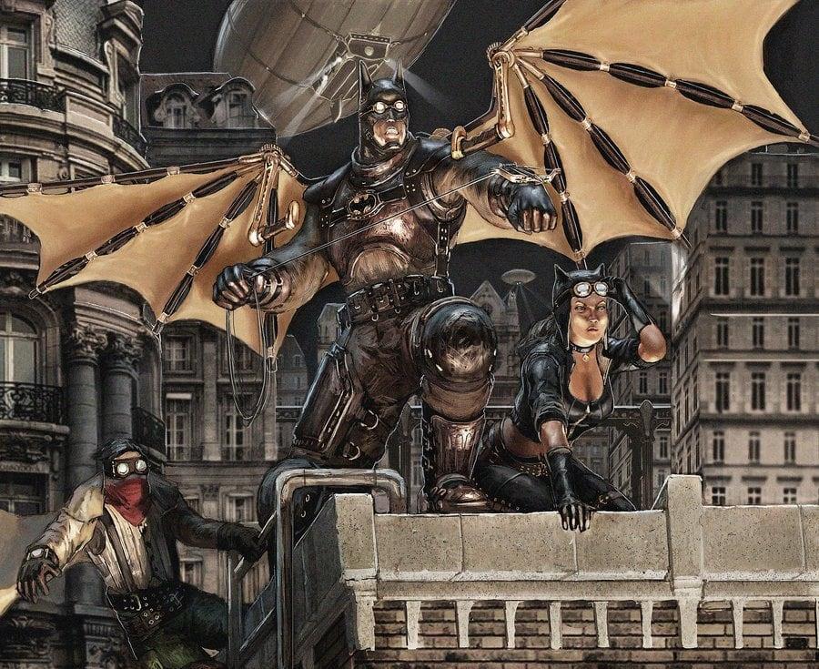 17 - Steampunk Batman