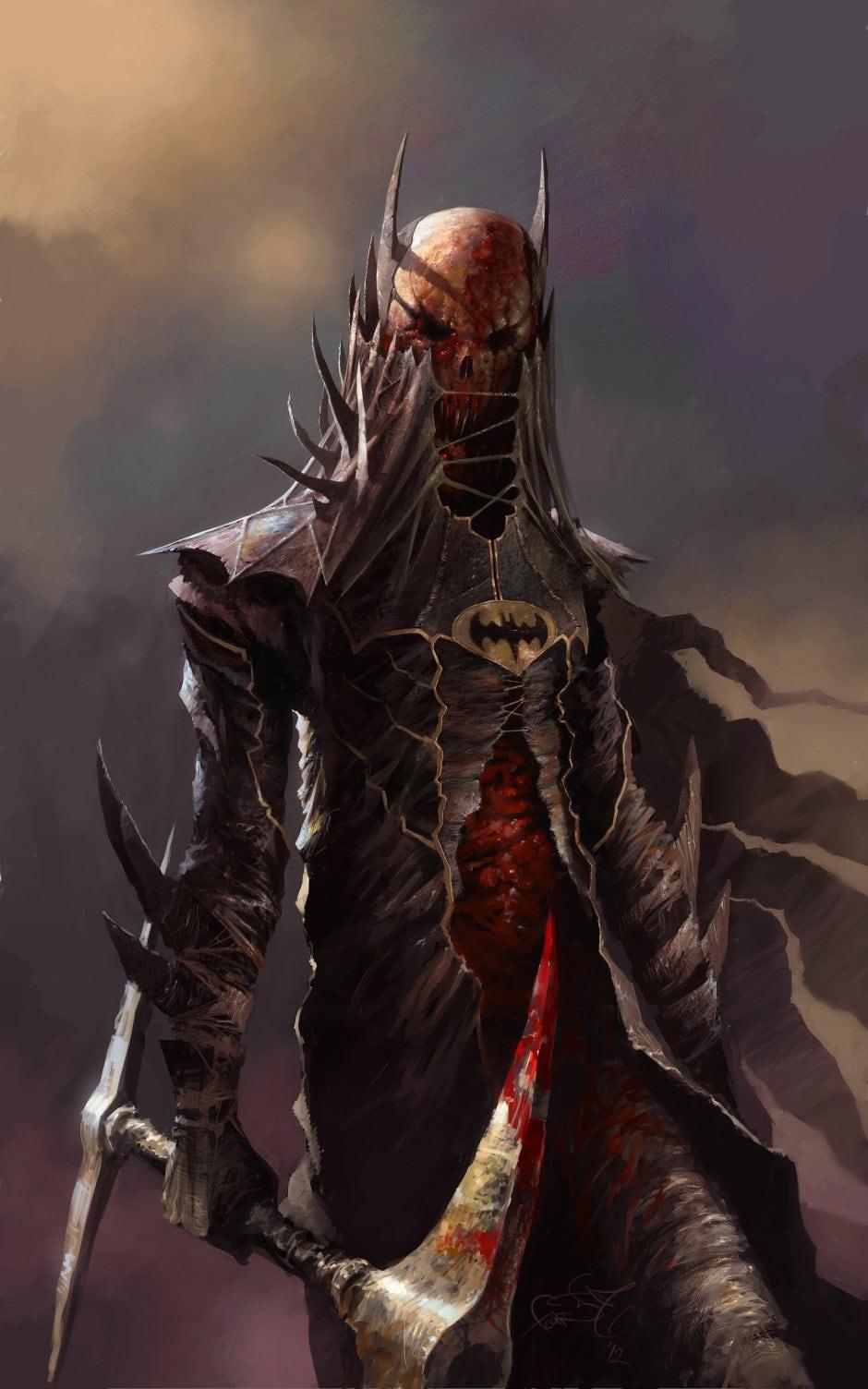 23 - Demonic Batman
