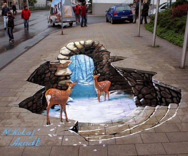 3D floor street art 1