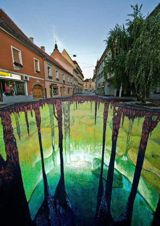 3D floor street art 16