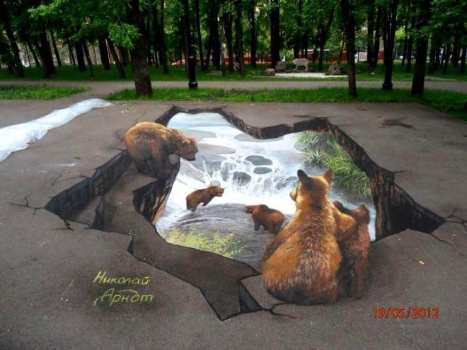 3D floor street art 2