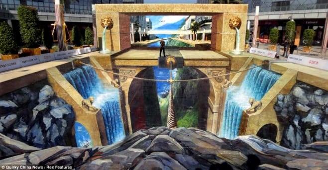 3D floor street art 9