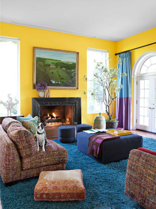 Color leaves the first impression for the guests