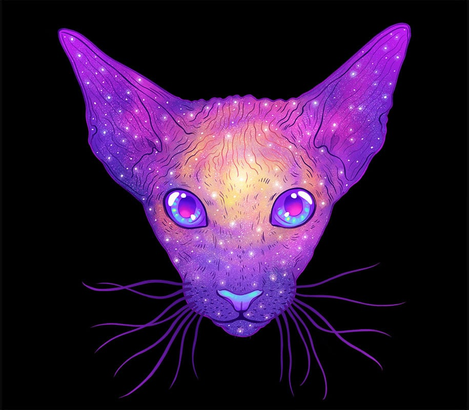 colorful-space-felines-galactic-cats-jen-bartel-2