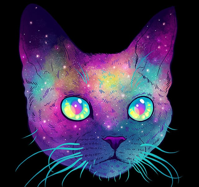colorful-space-felines-galactic-cats-jen-bartel-thumb640