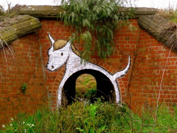 goat street art