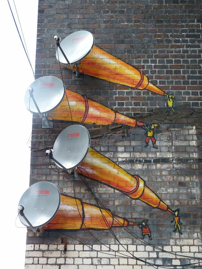 horn street art