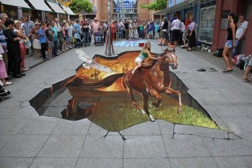 horse street art