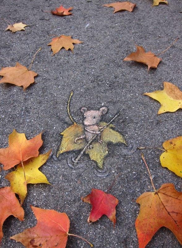 maple mouse street art