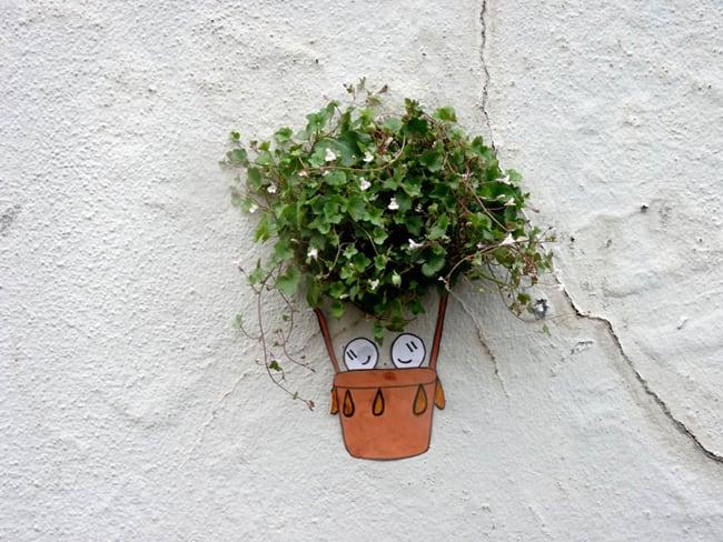 nature street art small
