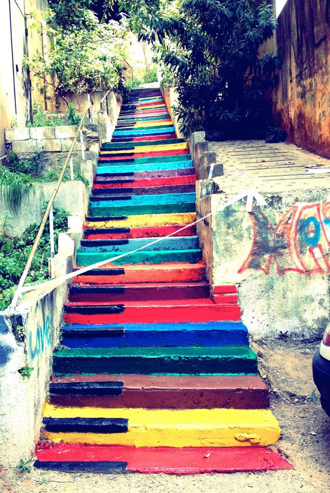 piano street art