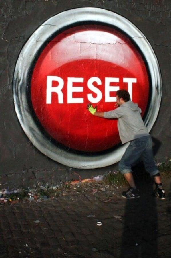 reset street art