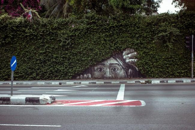 secret street art