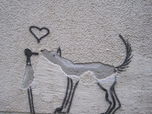 simple street art