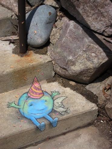 stair street art