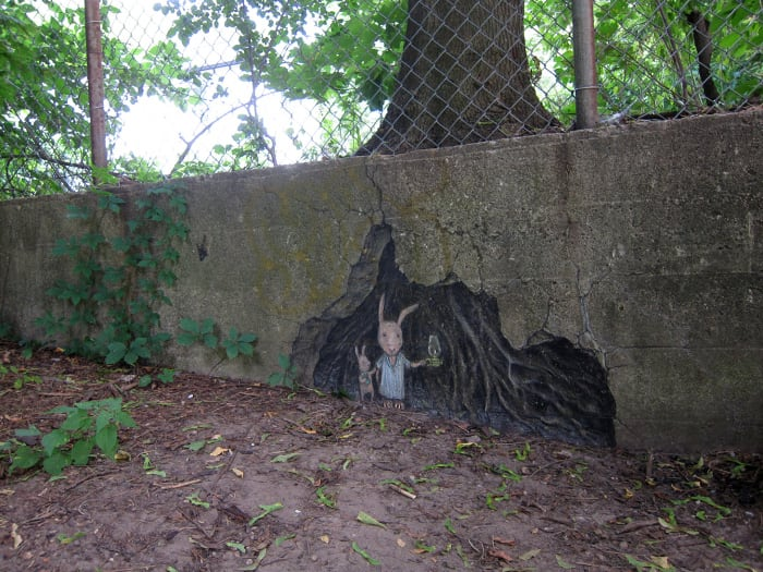 wall street art