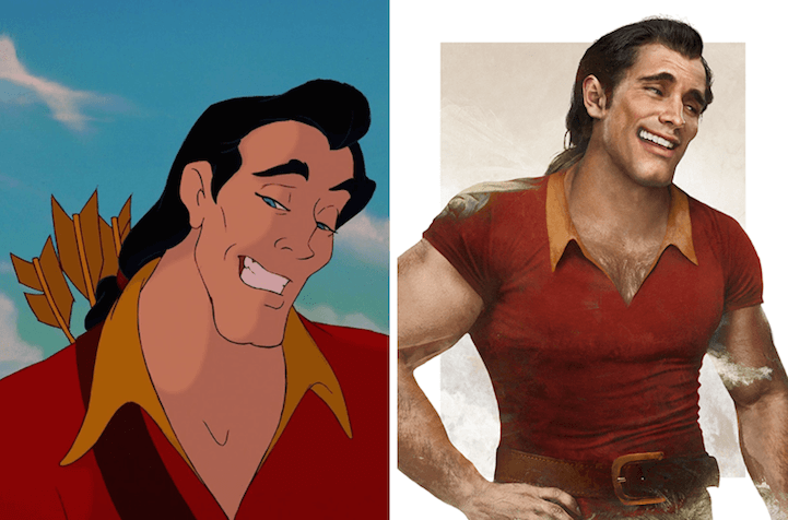 Gaston from Beauty and the Beast