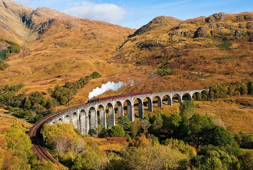 Glenfinnan Viaduct, Scotland (1)
