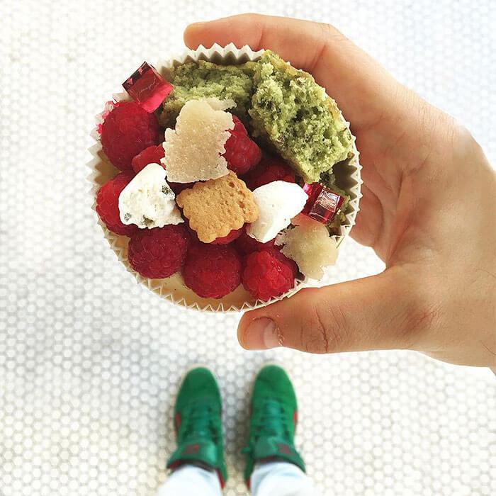 Raspberry Pistachio Cake By Liberte