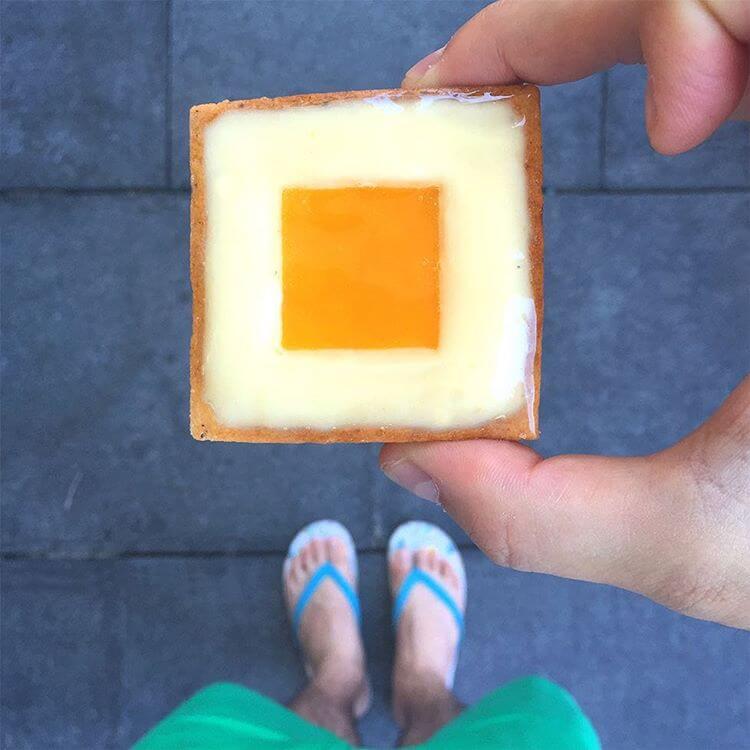 Mango-Citron Tart By Fauchon TLV