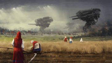 jakub rozalski 1920 before the storm 100na50small