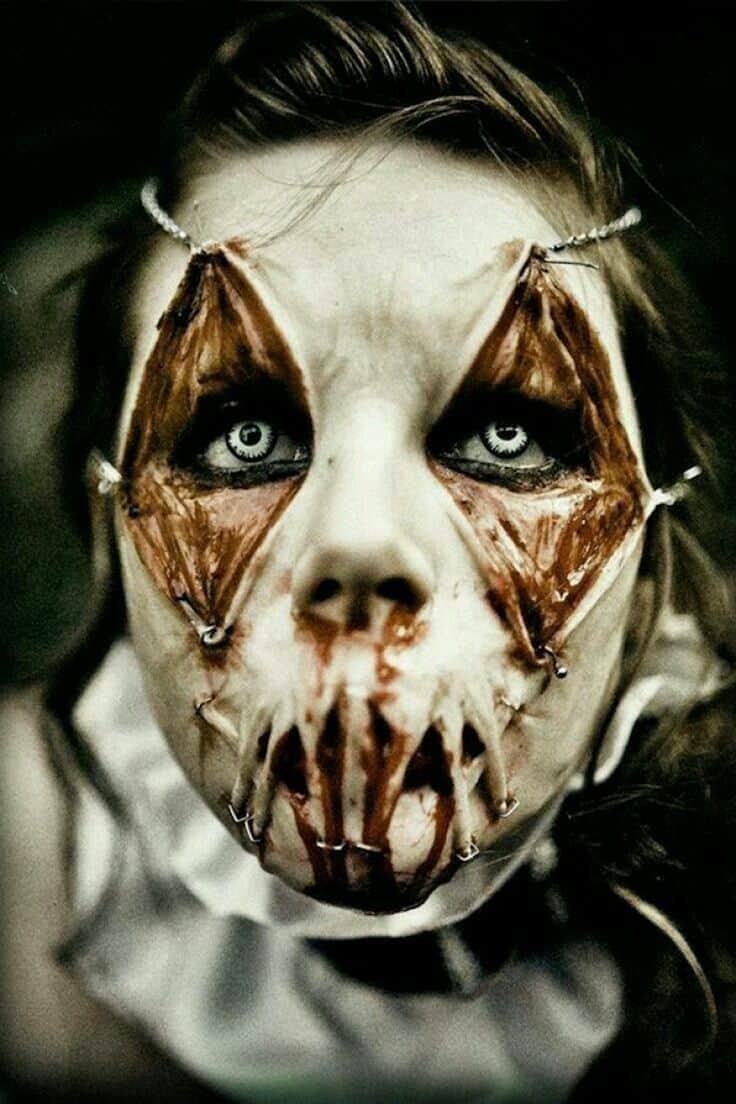 scary makeup