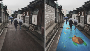 street paint shows wet project monsoon pantone south korea 1 1