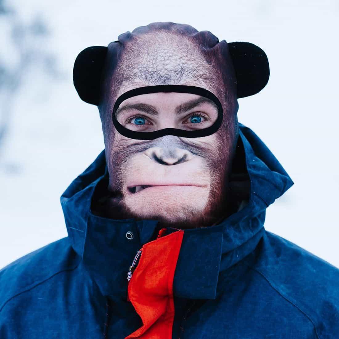ultra realistic animal ski masks 12