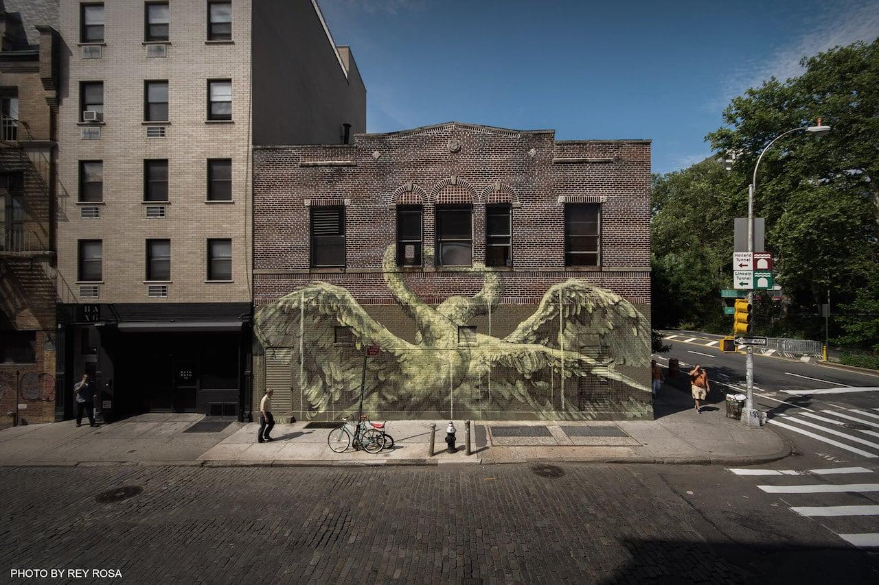 Faith47 mural in New York