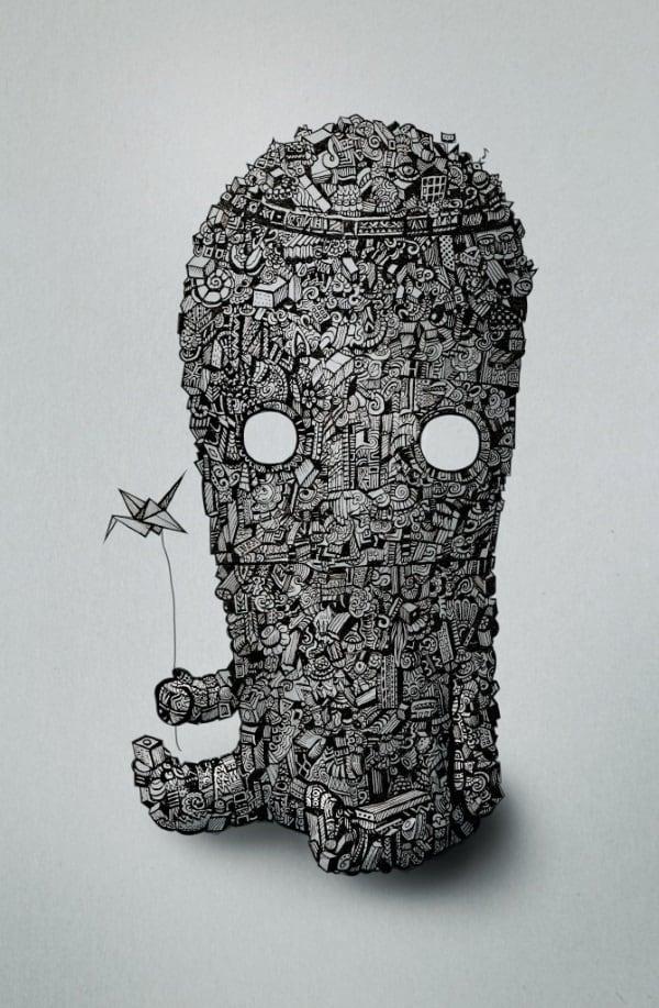 Origami_Monster