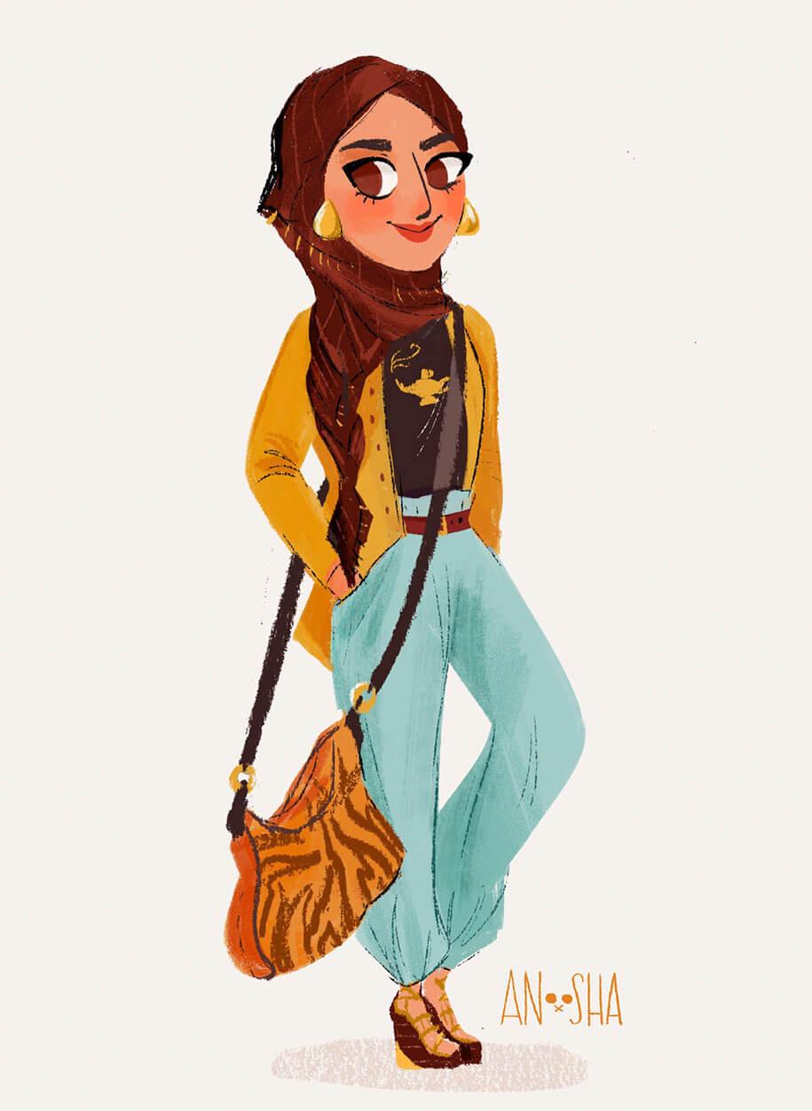 modern-disney-princesses-anoosha-syed-fy-2