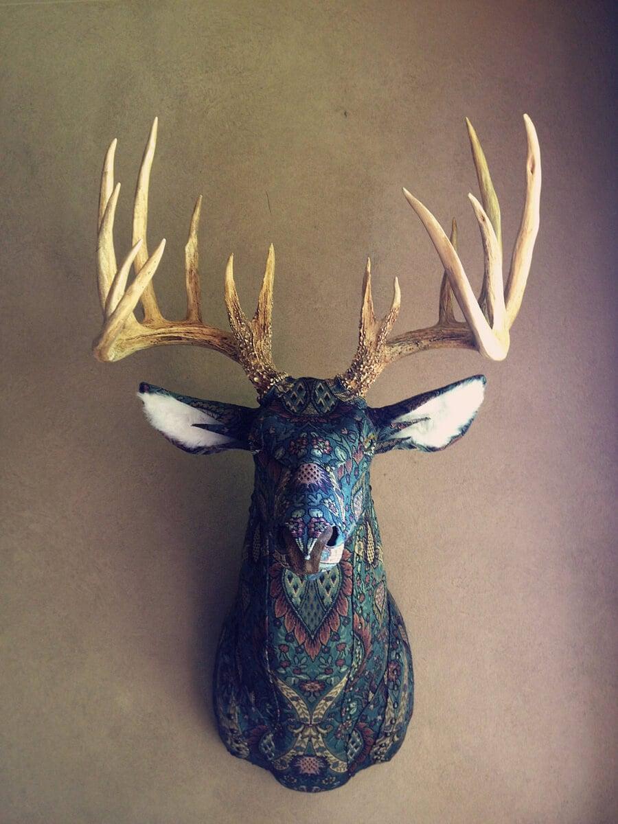 upholstery-animal-head-wall-mounts-fy-8