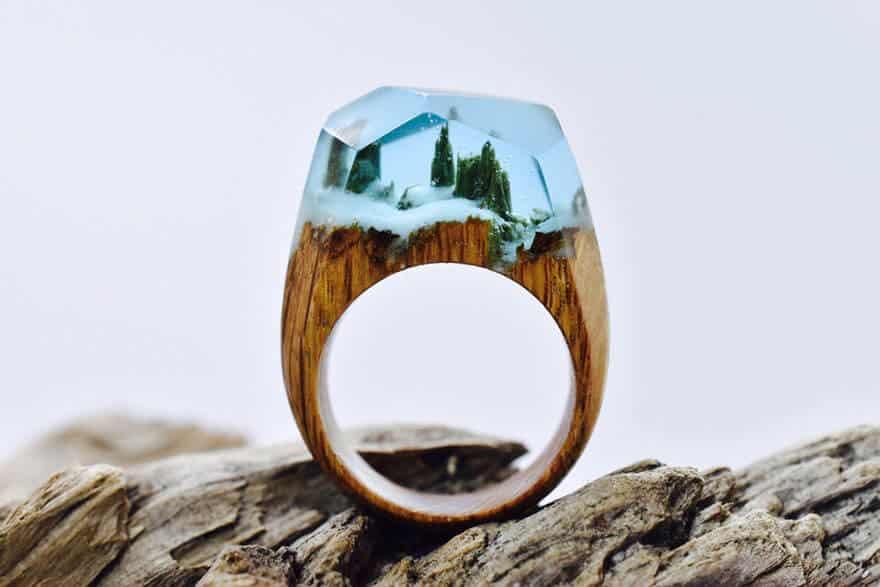 wooden rings secret wood fy 9 1