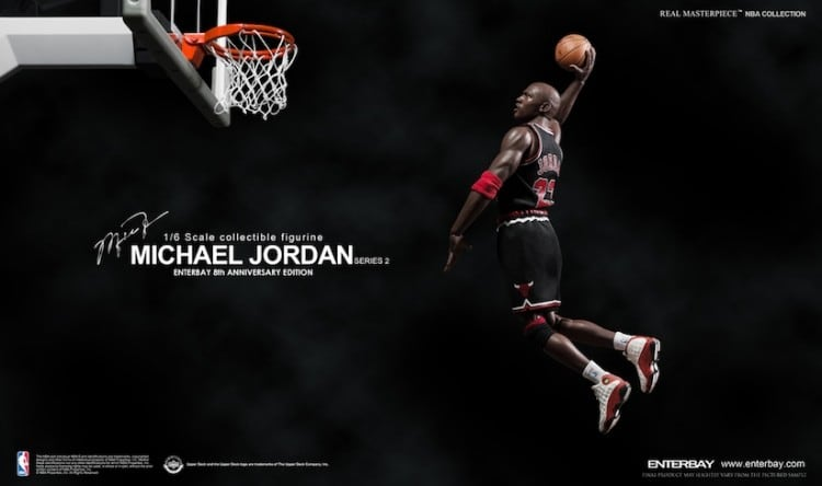 1 6 Scale Collectible Michael Jordan Figure by Enterbay 2014 01