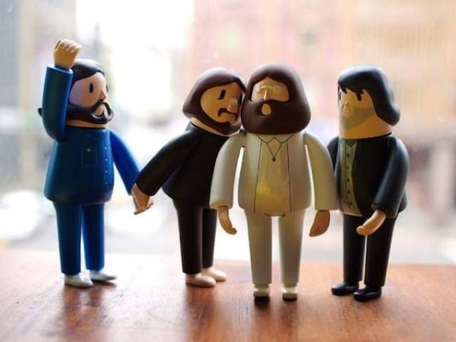 3D Printed Dolls Of The Beatle 0