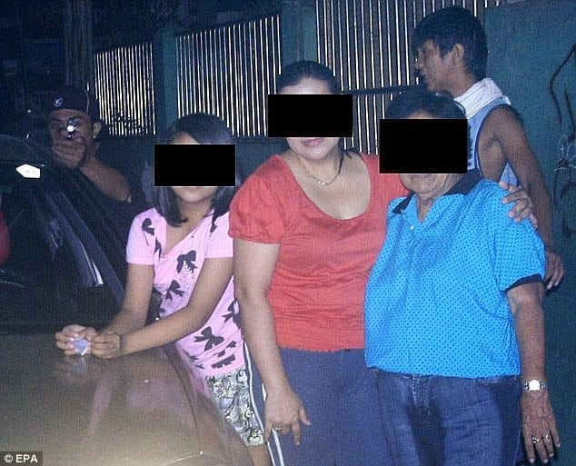 A Filipino politician took this photo of his family moments before being assassinated