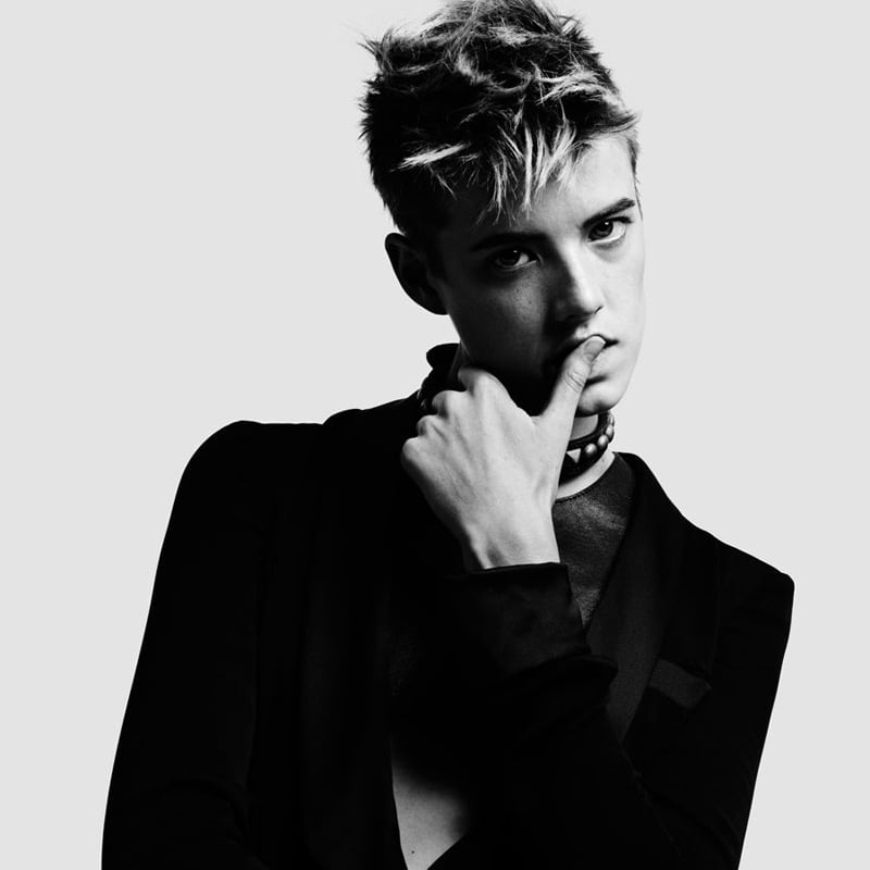 Agyness Deyn by Hedi Slimane for Vogue China DesignSceneNet 04
