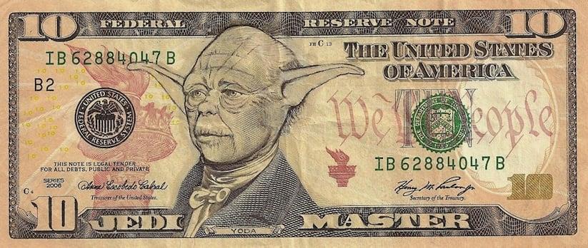 American Iconomics Pop Culture Characters on Dollar Bills 2014 01