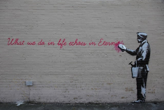 Banksy in than out NY 14 01